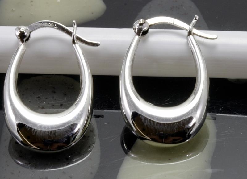 Creolen, 925 Sterling Silber