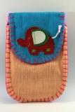 Brustbeutel, gemacht von den Akkha in Norsdthailand