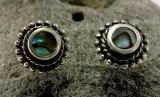 Abalone, Ohrstecker, 925 Sterling Silber