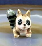 Waschbär, Porzellanminiaturen