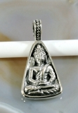 Buddha, Anhänger, 925 Sterling Silber
