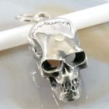 Totenkopf, Skull, Anhänger, 925 Sterling Silber