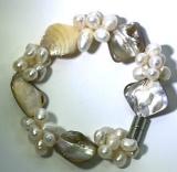 Armband, Süßwasserzuchtperlen