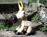 Kuh, kleine Holzskulptur