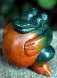 Frosch aus Holz