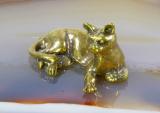 Katze, Bronze, Miniatur