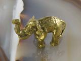 Elefant, Bronze, Miniatur