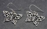 Schmetterlinge, Ohrringe, 925 Sterling Silber