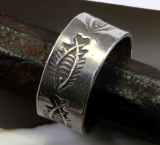 Fische, Ring, traditionelle Arbeit, 925 Sterling Silber