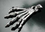 Hand, Skelett, Anhänger, 925 Sterling Silber