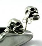 Totenkopf, Skull, Ohrstecker, 925 Sterling Silber