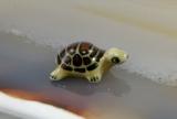 Schildkröte, Porzellanminiatur